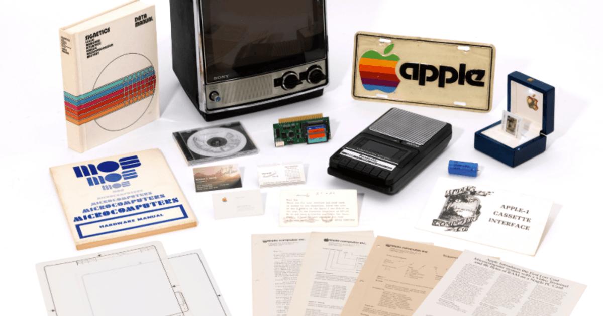 Цифра дня: сколько просят за редкий компьютер Apple 1?
